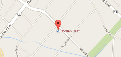 Jordan Cast & Wicker Oakville Map